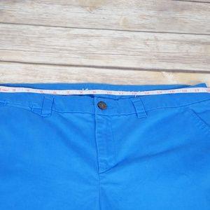 GAP Pants - Gap Straight Broken In Khakis Blue Size 12